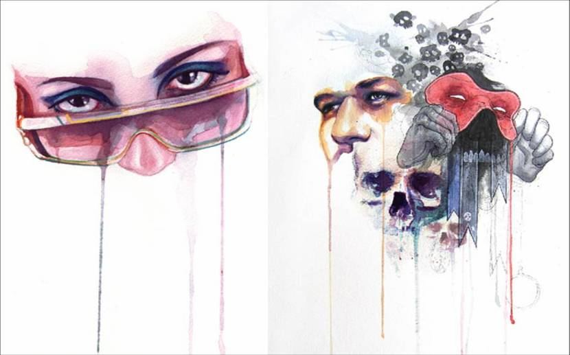 Eye Series by Marion Bolognesi